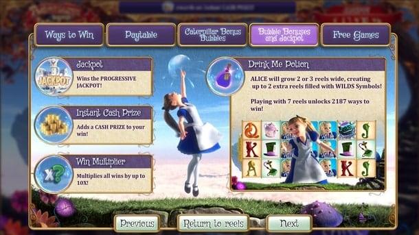 Правила игры в Adventures Beyond Wonderland