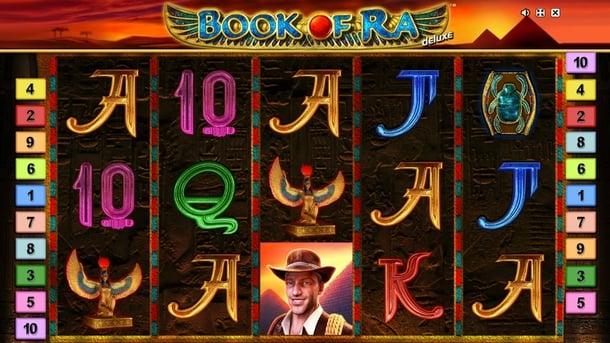 Символы Book of Ra Deluxe