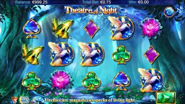 Выигрышные символы Theatre of Night