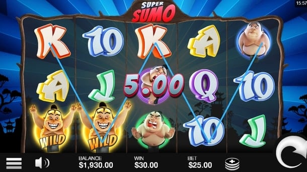 Дикие знаки в онлайн игре Super Sumo